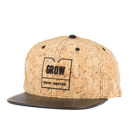 "Cork Snapback Hat ""Ericeira"" 