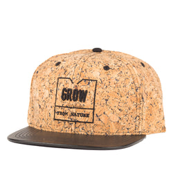 "Cork Snapback Hat ""Milano"" 