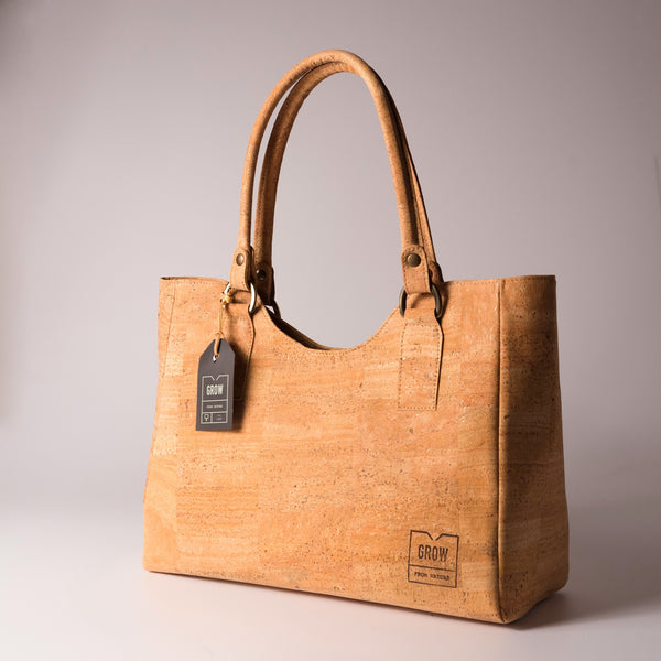 "Cork Tote Bag ""Grisea"" - HowCork"
