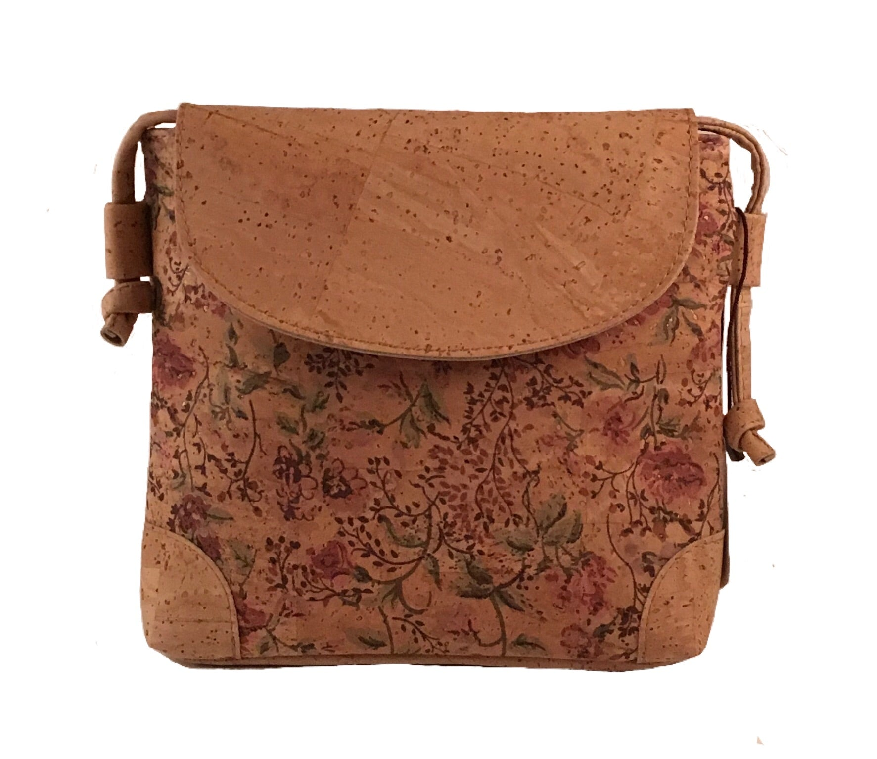 Art For the Cure Floral Purse | HowCork - The Cork Marketplace
