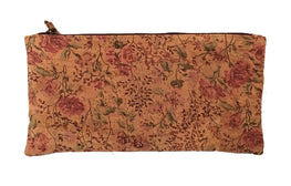 Art For The Cure Pink and Floral Cork Wristlet | HowCork - The Cork Marketplace