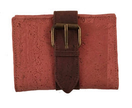 Art For The Cure Cork Belt Buckle Wallet | HowCork - The Cork Marketplace