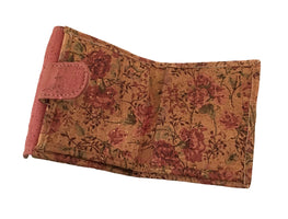 Art For The Cure Cork Floral Mini Wallet - HowCork