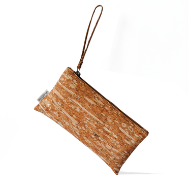 Cork and Fennel Wristlet