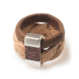 Cork Weave Ring | HowCork - The Cork Marketplace