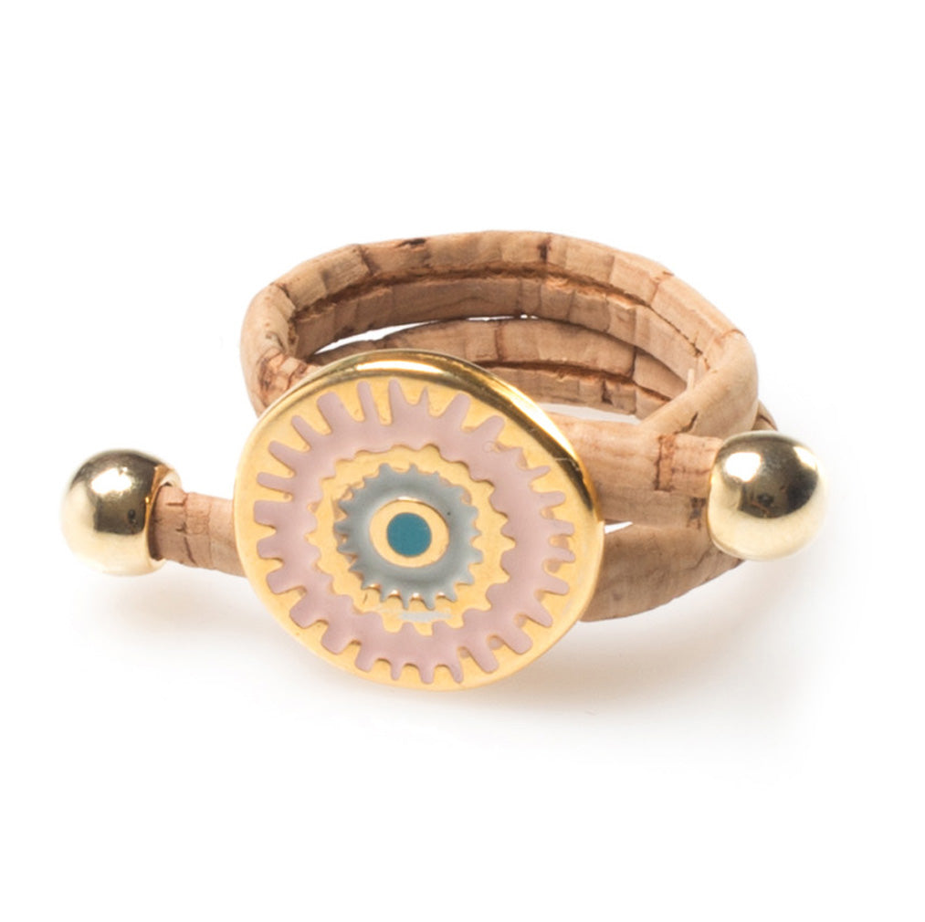Cork Lucky Eye Ring | HowCork - The Cork Marketplace