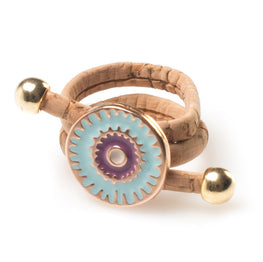 Cork Lucky Eye Ring - HowCork