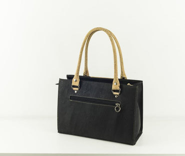 Chapmanii Black Cork Handbag