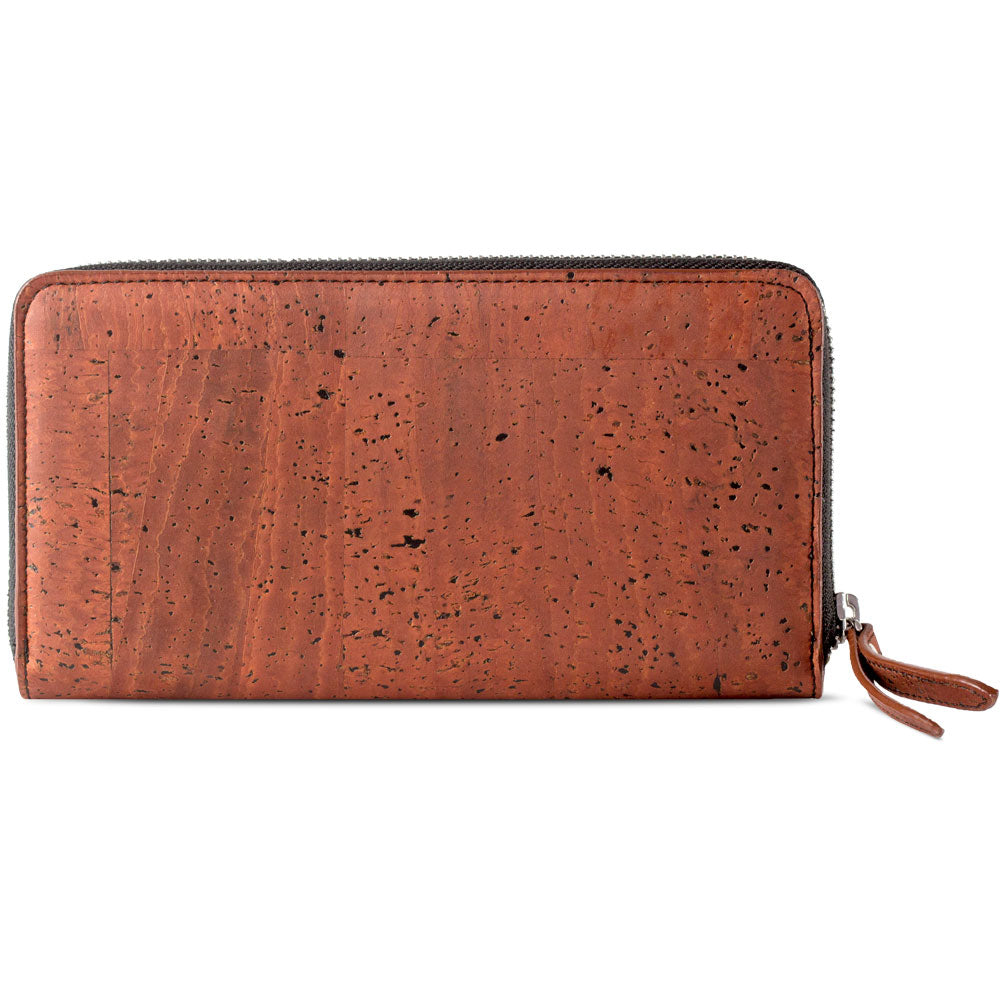 Women's Long Cork Wallet - HowCork
