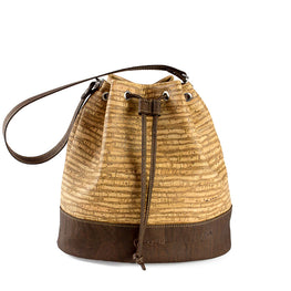 Cork Bucket Bag - HowCork