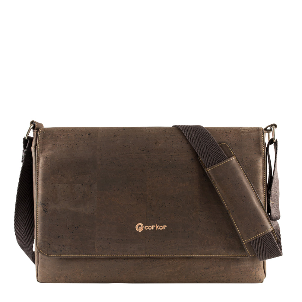 Cork Messenger Bag | HowCork - The Cork Marketplace