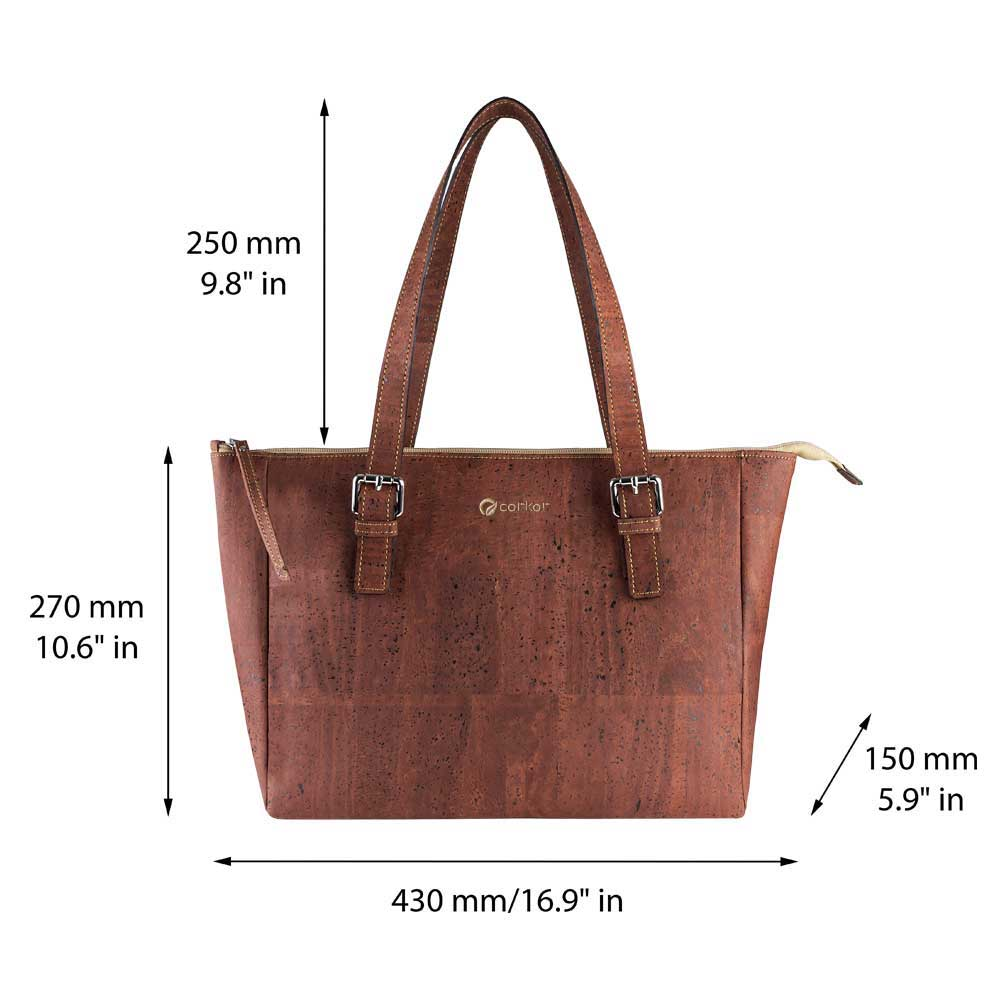 Cork Satchel Bag