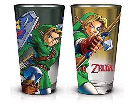 ZELDA PINT GLASS SET