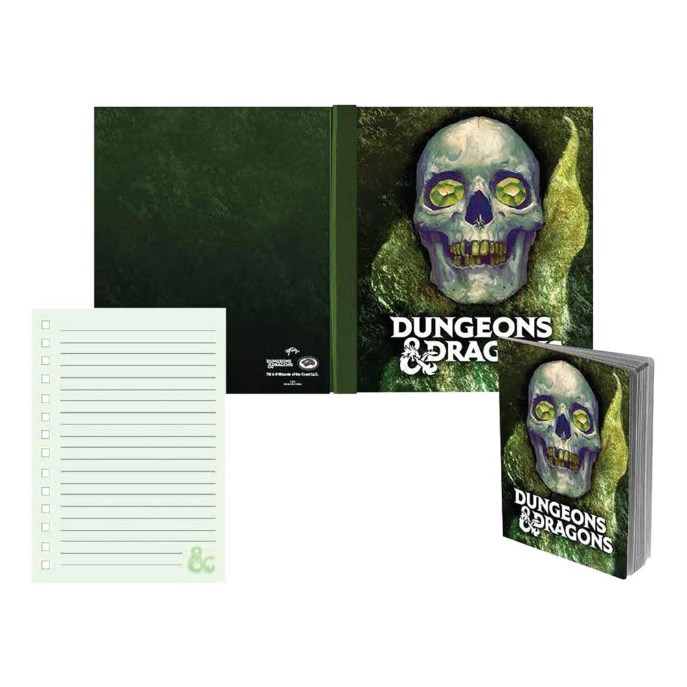 Dungeons and Dragons Hardcover Notebook - Stunned Mind