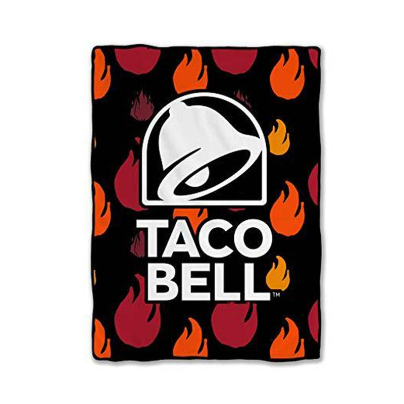 Stunned Mind Taco Bell Bed Blanket, 45 x 60 inches - Stunned Mind