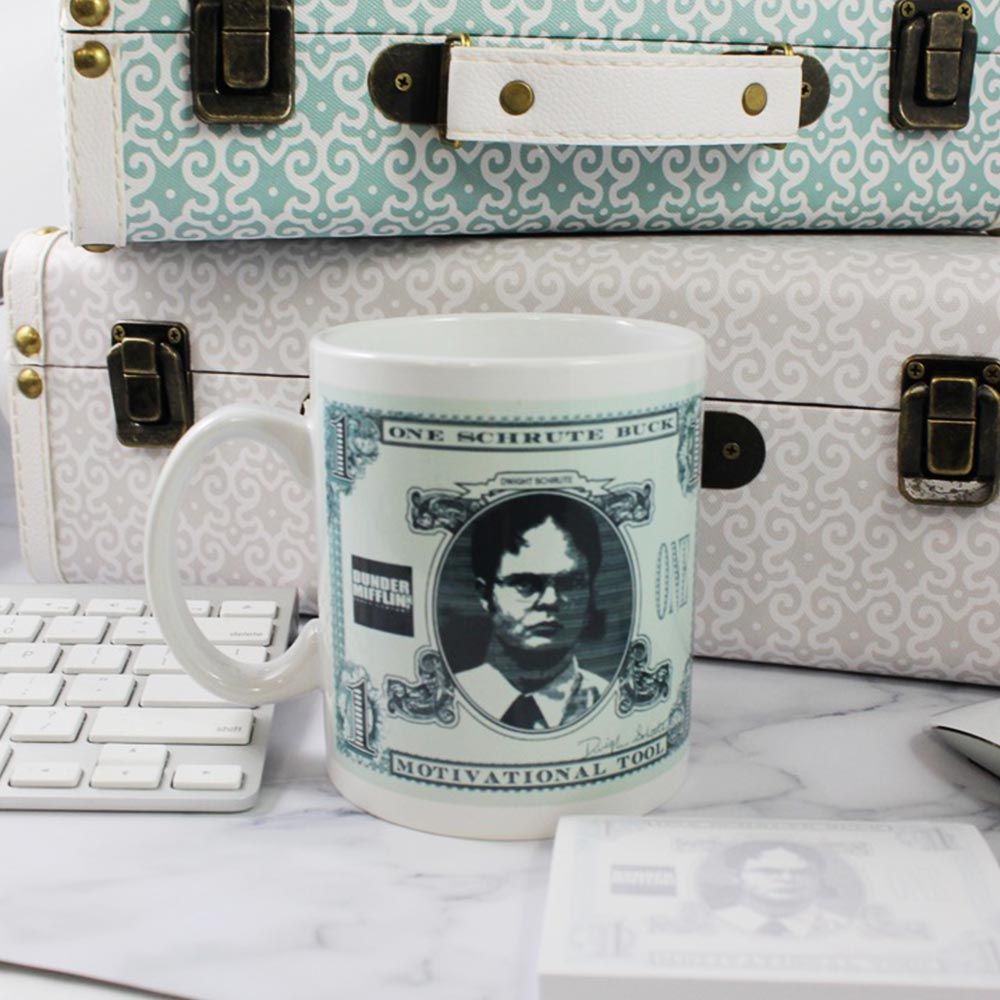 The Office Coffee Mug, featuring the Schrute Buck - Stunned Mind