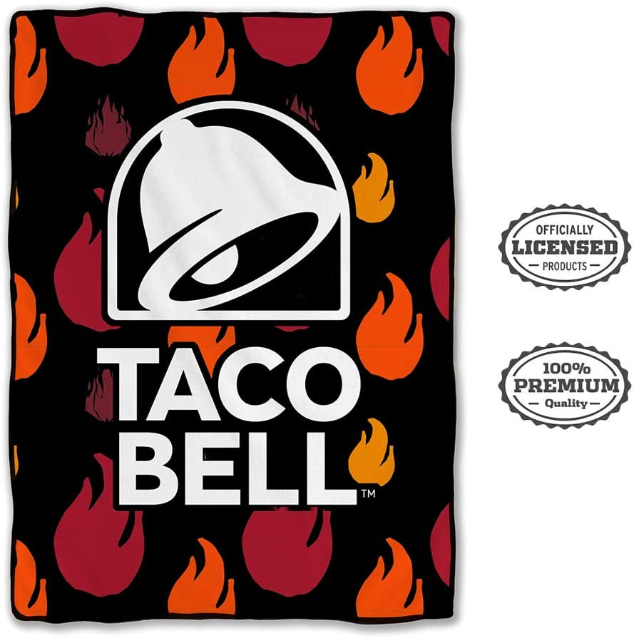 Taco Bell Bed Blanket, 45 x 60 inches - Stunned Mind