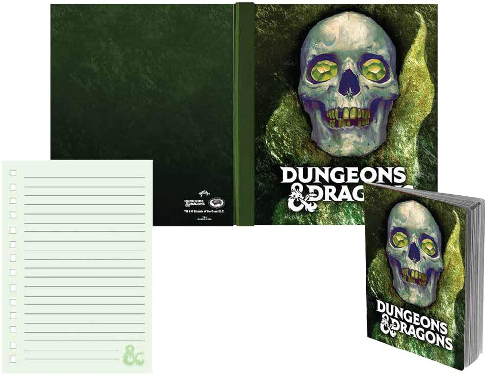 Dungeons and Dragons  Hardcover Notebook 6 X 8 inches - Stunned Mind