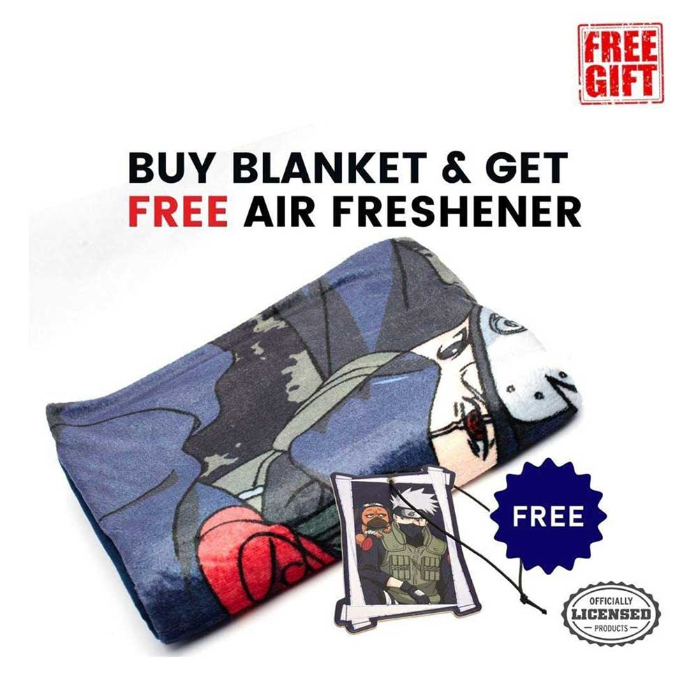 Naruto Shippuden Blanket with Air Freshener - Stunned Mind