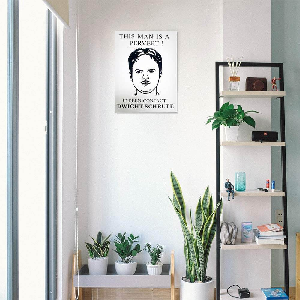 The Office Dwight Schrute Wall Art - Stunned Mind