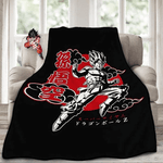 Dragon Ball Z Combo Set  Bed Blanket with Magnet - Stunned Mind