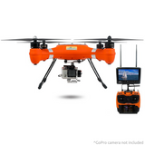 Splash Drone AUTO Version Rated IP67 with GoPro Gimbal Fishing Line  Release Rig