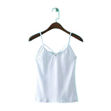 Sleeveless Cami Tank Top Spaghetti Strap Shirt