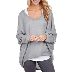 Oversized Loose Pullover Casual Top