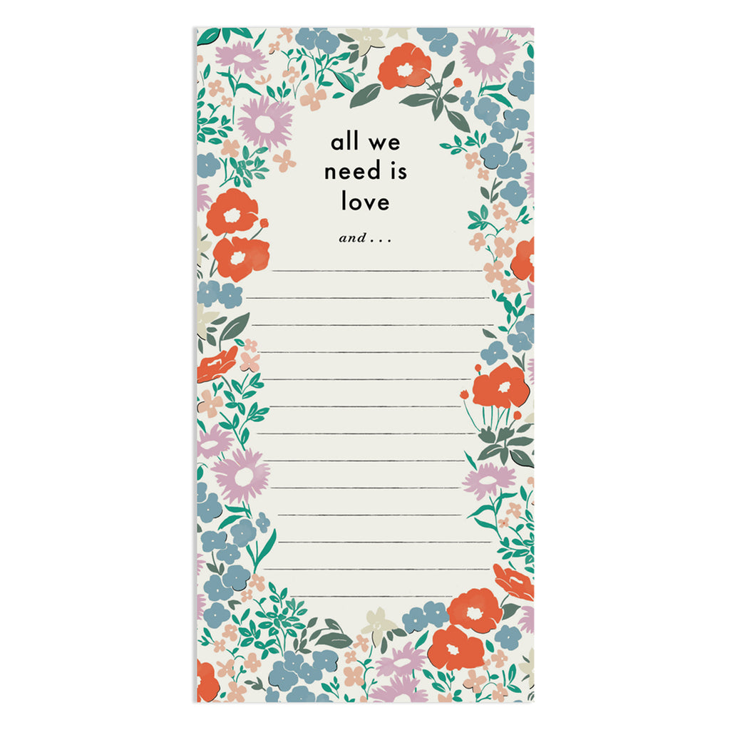 All We Need List Pad