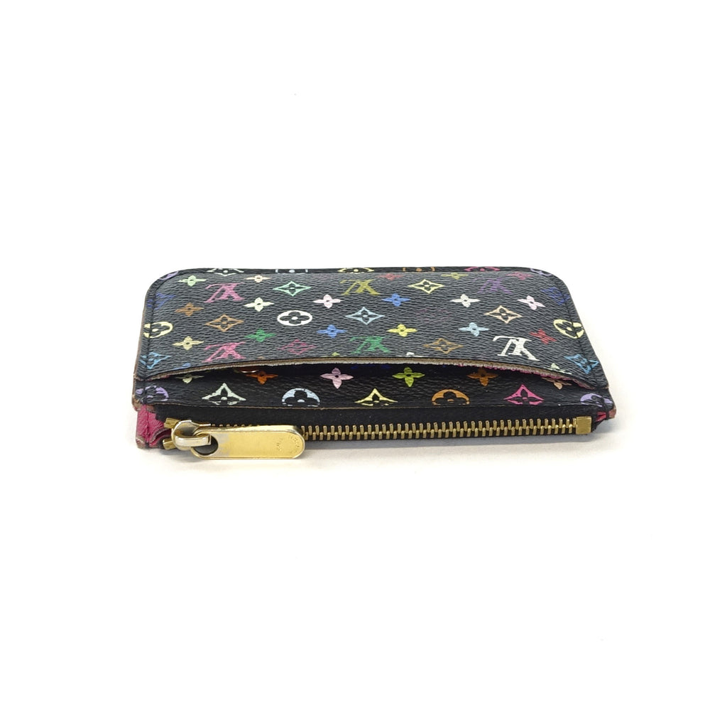 Multicoloured Coin Purse with Key Ring