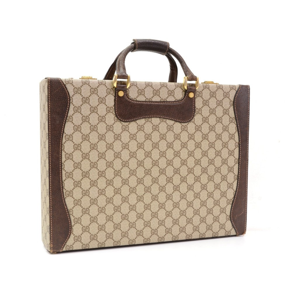 Guccissima Canvas Vintage Briefcase