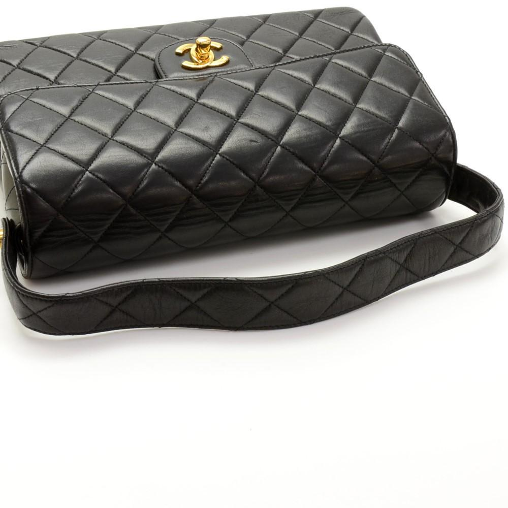 "10"" Double Sided Flap Handbag"