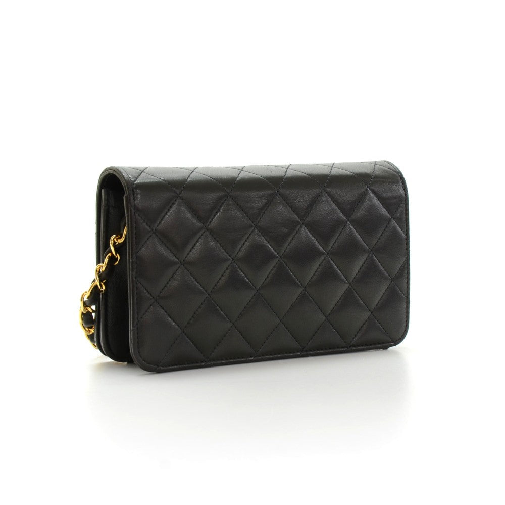 Single Flap Quilted Leather Shoulder Bag
