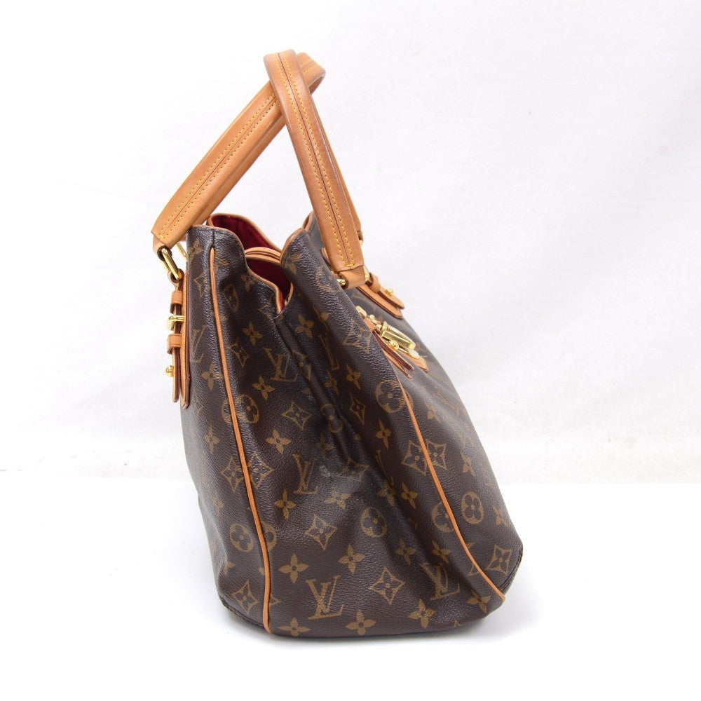 Griet Monogram Canvas Handbag