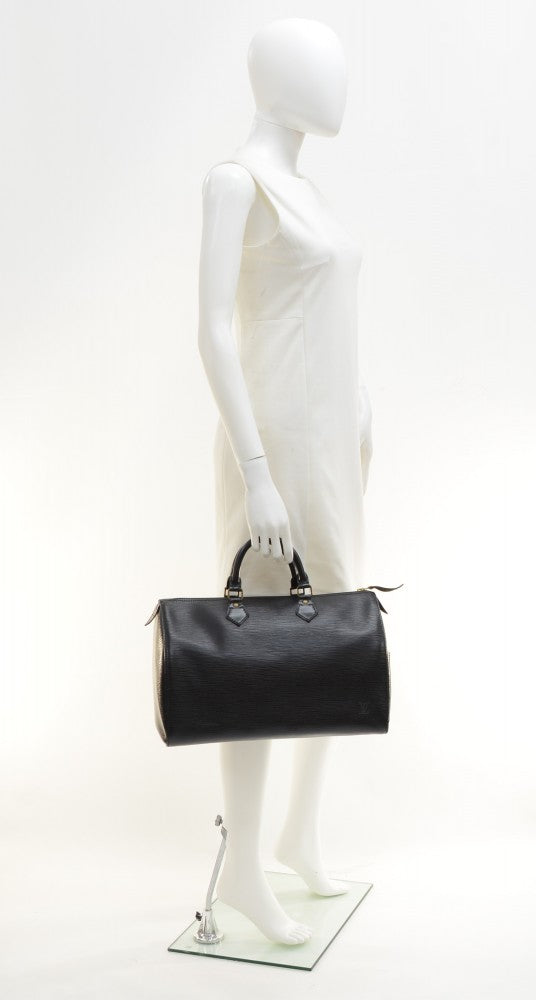 Speedy 35 Epi Leather Handbag