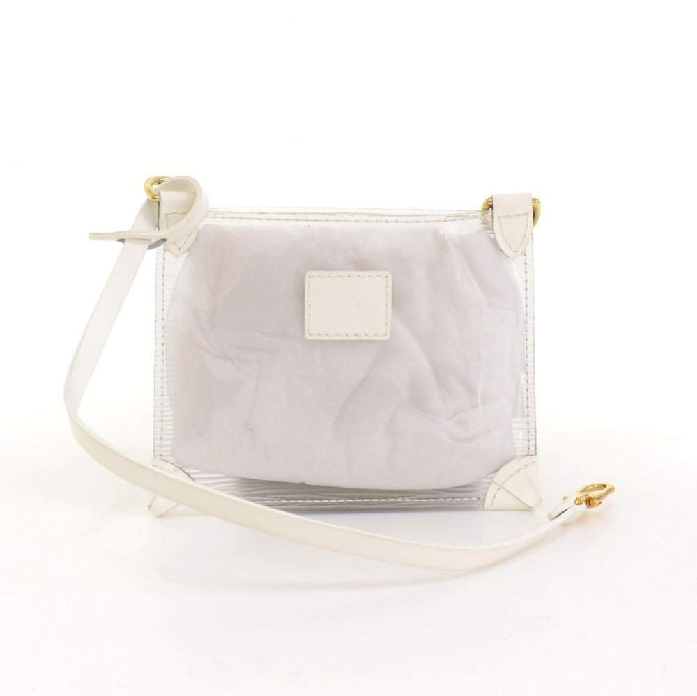 Plage Lagoon Mini Translucent Epi Vinyl Bag