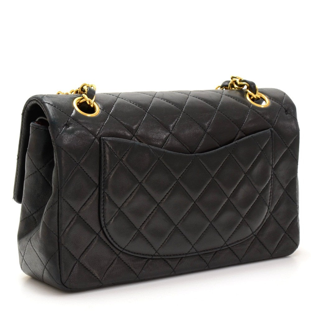 "9"" Double Flap Shoulder Bag"