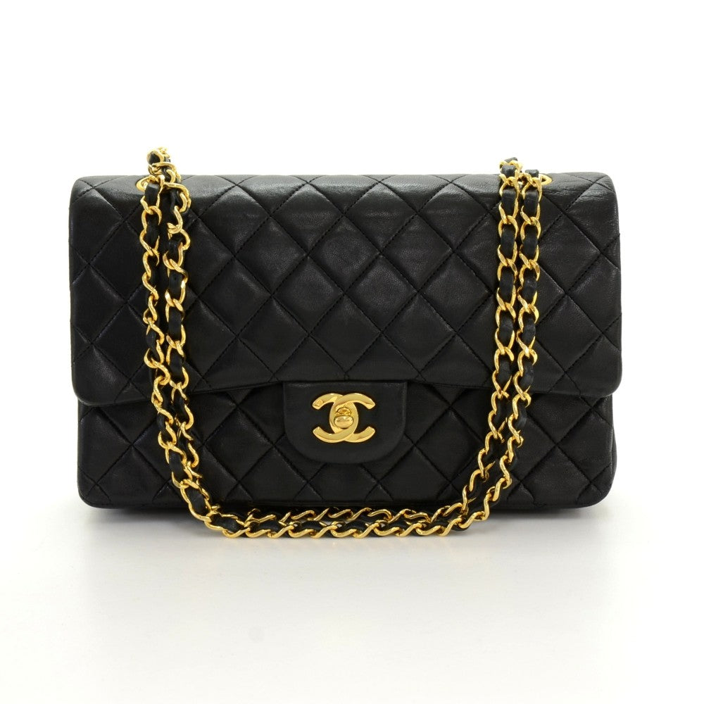 "10"" Double Flap Shoulder Bag"