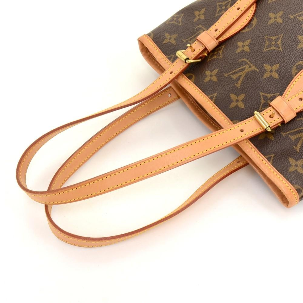 Bucket PM Monogram Canvas Shoulder Bag