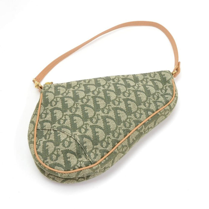 Saddle Monogram Canvas Mini Bag