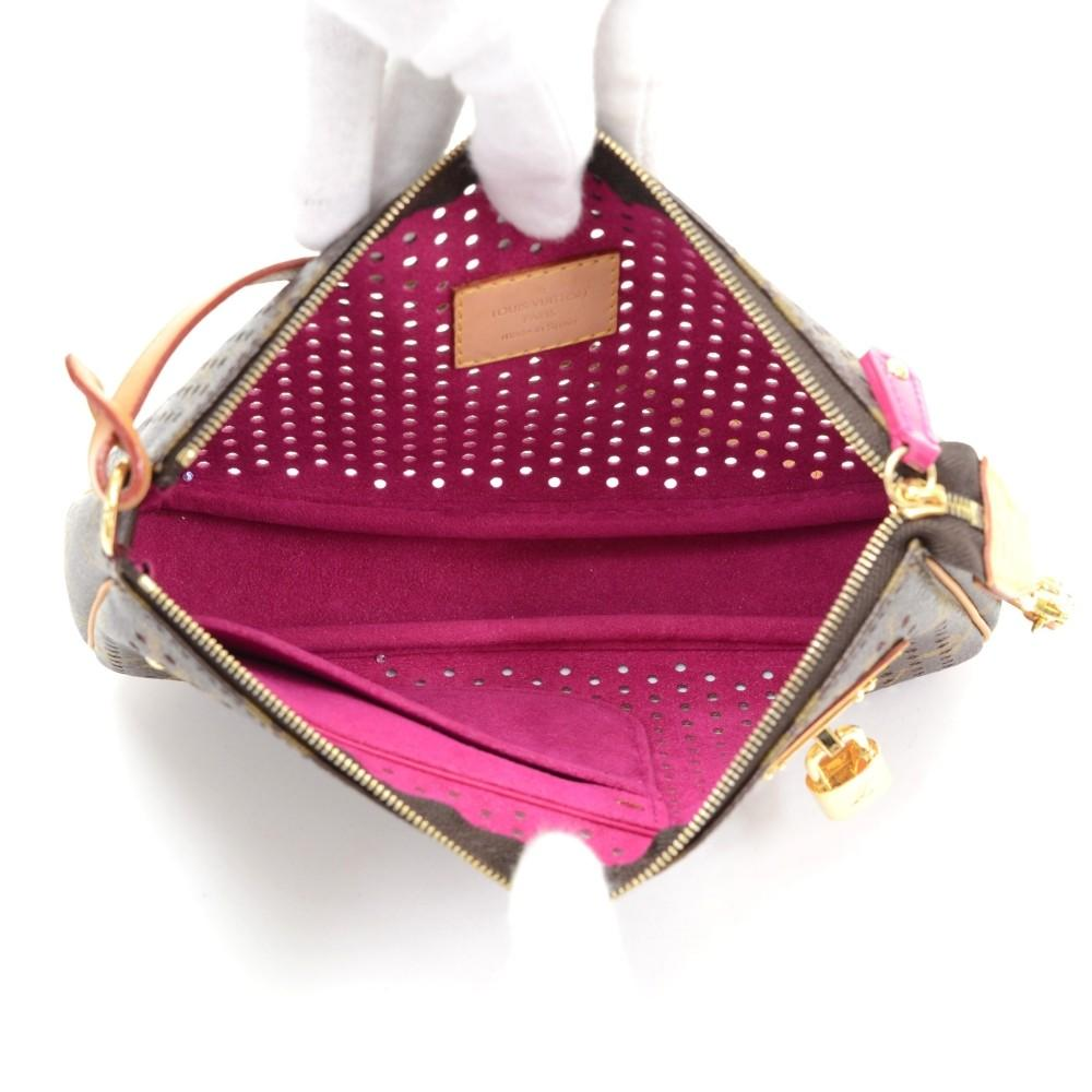 Perforated Monogram Canvas Accessoires Evening Bag - 2006 Limited Edition