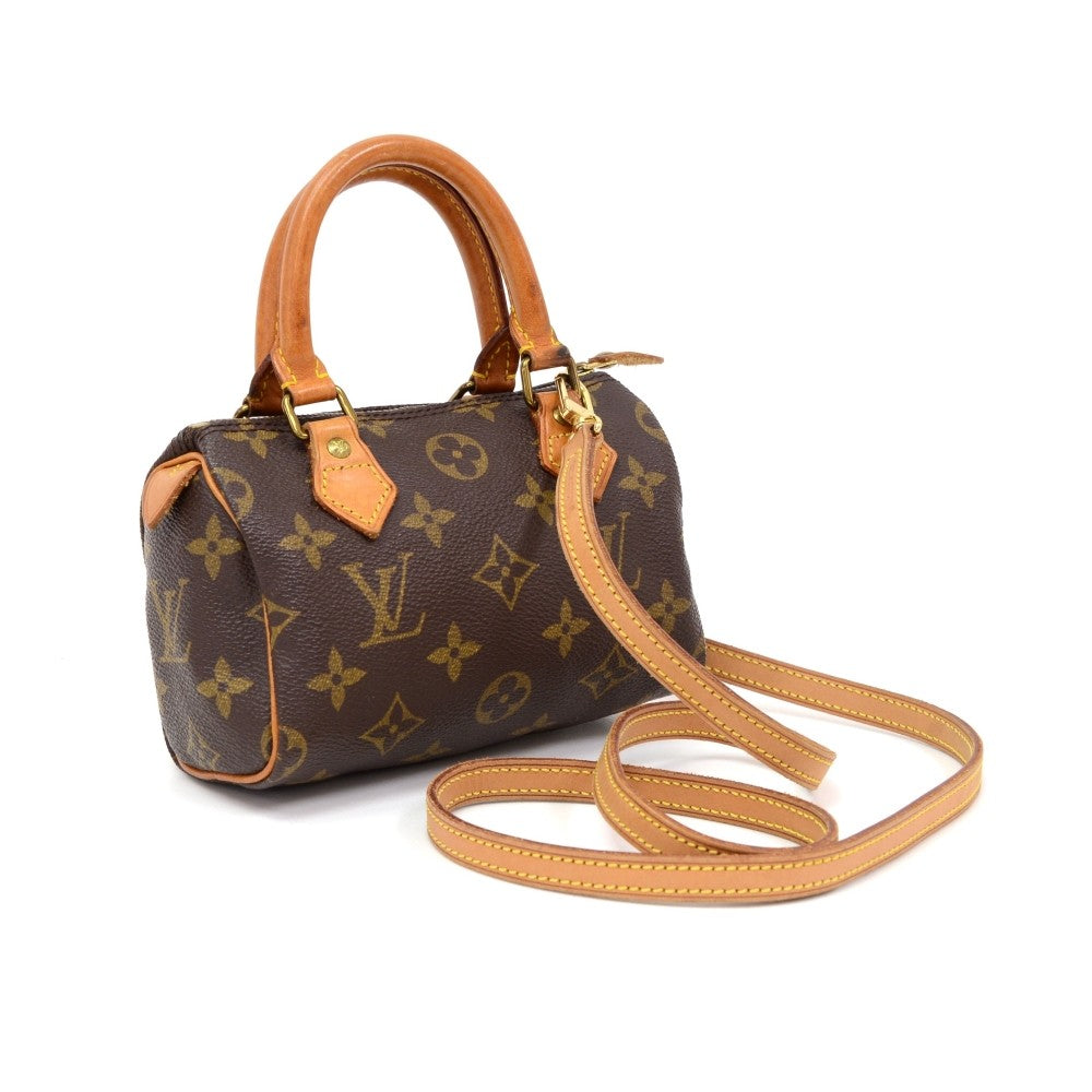 Mini Speedy Handbag with Strap