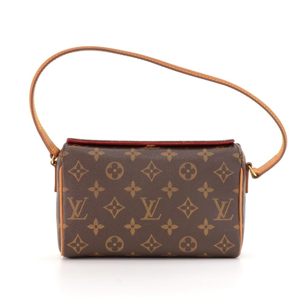 Recital Monogram Canvas Handbag