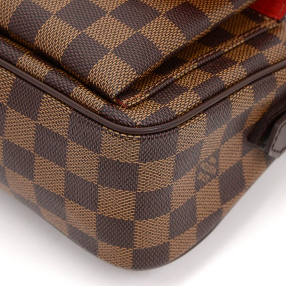 Ravello GM Damier Ebène Canvas Shoulder Bag