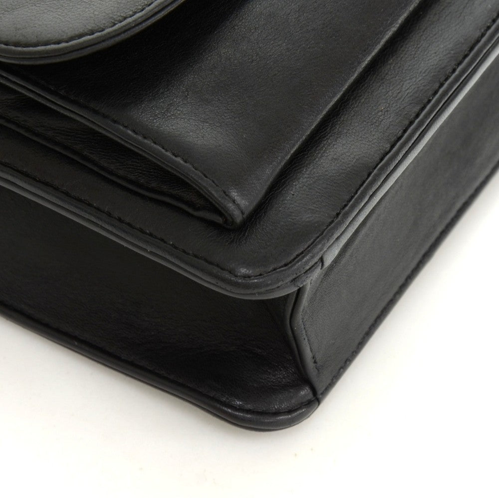 Lambskin Leather Messenger Bag