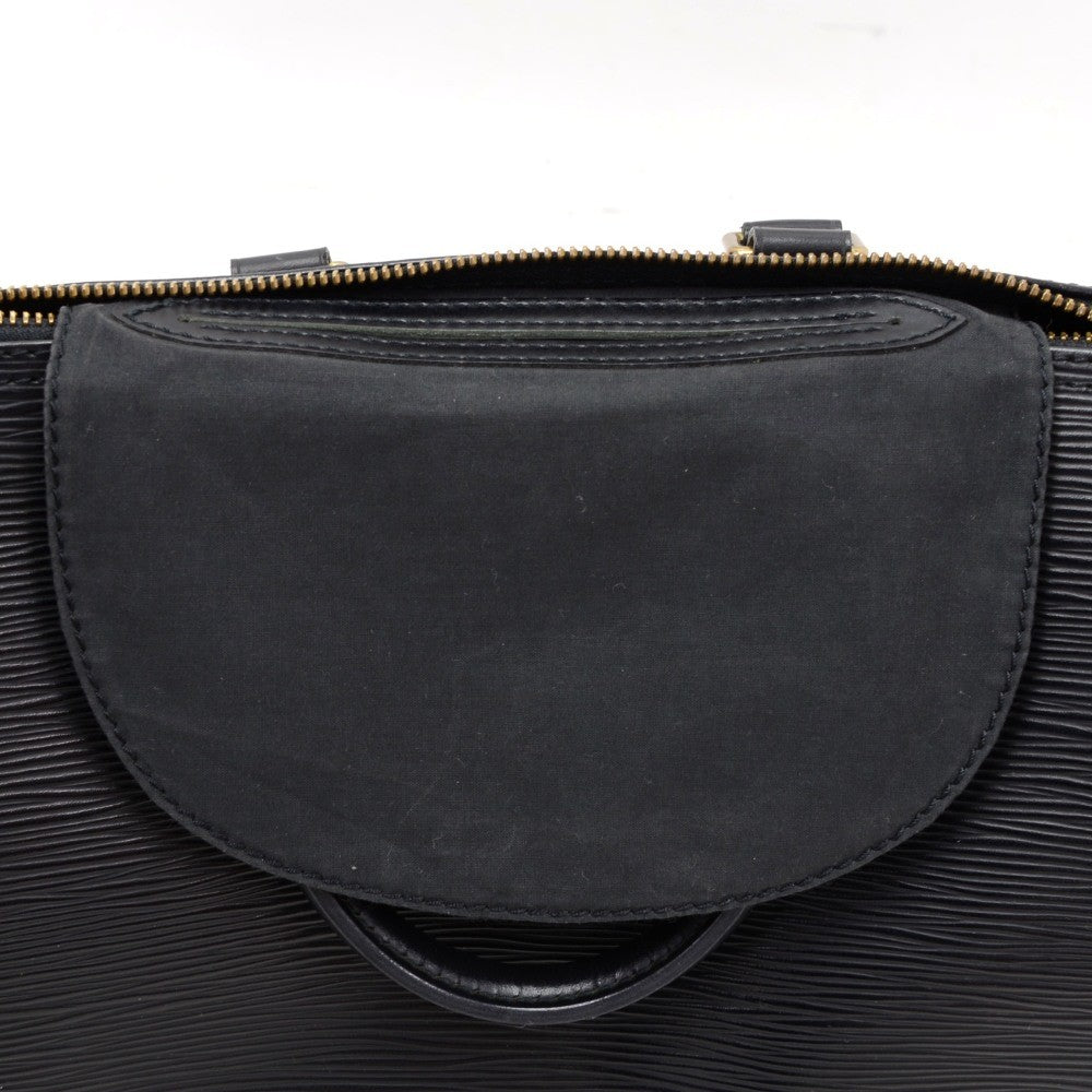 Speedy 25 Black Epi Leather Handbag