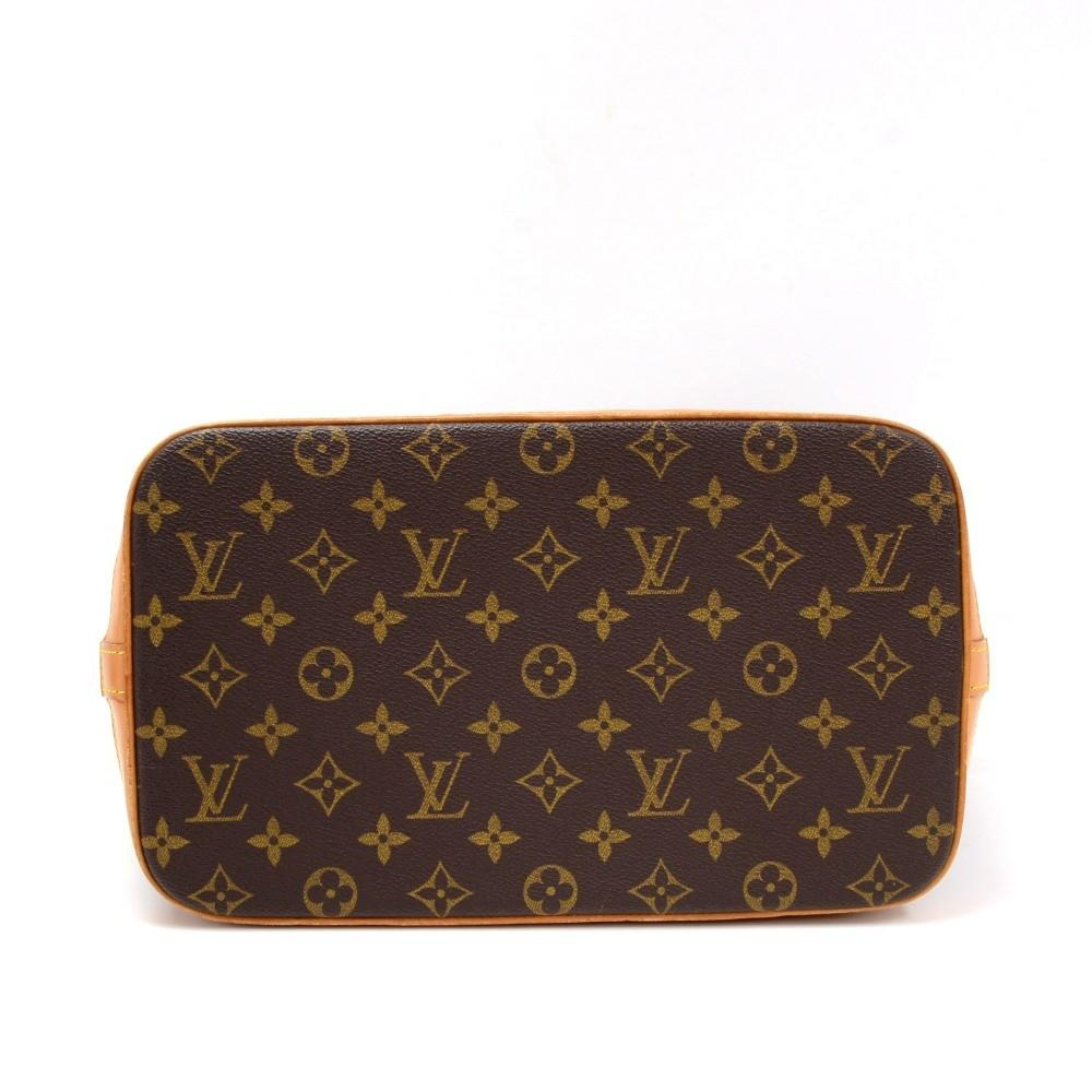 Amfar Monogram Canvas Shoulder Bag