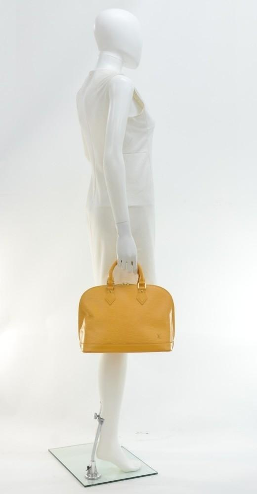 Alma Epi Leather Handbag