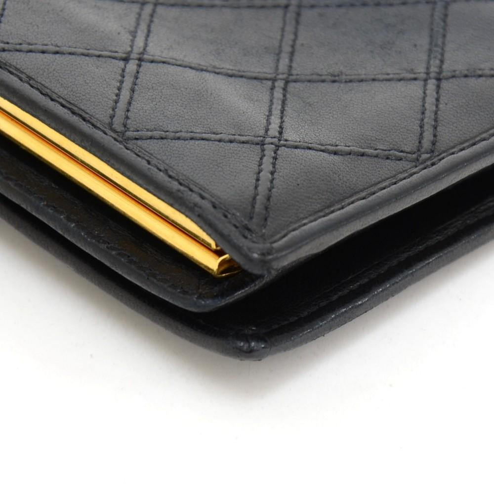 Quilted Leather Wallet