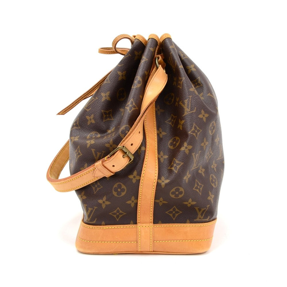 Noe Monogram Canvas Shoulder Bag